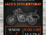 Biker Party Invitations Instant Download Diy Motorcycle Birthday Party by