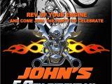 Biker Party Invitations Motorcycle Invitation Printable File Diy Bike by