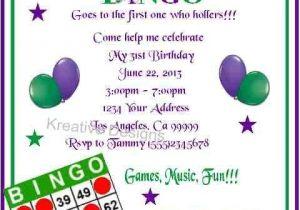 Bingo Party Invitations 17 Best Images About Party Bingo On Pinterest Bingo