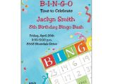 Bingo Party Invitations Bingo Birthday Invitations Paperstyle