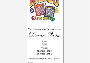 Bingo Party Invitations Bingo Invitations Bingo Announcements Invites Cafepress
