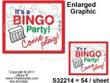 Bingo Party Invitations Booster Bingo Game to Use Your Game Time Calling Out Your