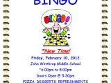 Bingo Party Invitations Free Bingo Flyers Bingo Flyer Templates and Printing Party
