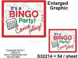 Bingo Party Invitations Free Bingo Party Invitations