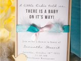 Bird themed Baby Shower Invitations Handmade Baby Shower Invitation Bird theme by Embellishedpaper