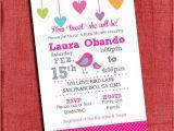Bird themed Baby Shower Invitations Printable Bird themed Baby Girl Baby Shower with Hearts