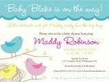 Bird themed Baby Shower Invitations Sweet Tweet Baby Nesting Bird theme Baby Shower Invitation