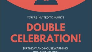 Birthday and Housewarming Party Invitation Customize 39 Housewarming Invitation Templates Online Canva