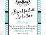 Birthday Breakfast Invitation Template Invitation Breakfast Sample Gallery Invitation Sample