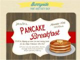 Birthday Breakfast Invitation Template Wonderful Breakfast Invitation S Free Premiu On Birthday