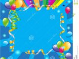 Birthday Invitation Background Templates Party Invitation Stock Illustration Illustration Of