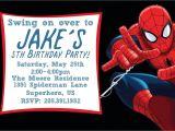 Birthday Invitation Card Spiderman theme Free Printable Spiderman Birthday Invitation Templates