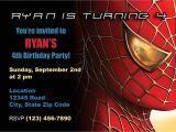 Birthday Invitation Card Spiderman theme Items Similar to Spiderman Birthday Invitation On Etsy