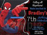 Birthday Invitation Card Spiderman theme Spiderman Birthday Invitations Egreeting Ecards