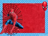 Birthday Invitation Card Spiderman theme Spiderman Free Printable Invitations Cards or Photo