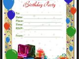 Birthday Invitation Card Template Word Free 63 Printable Birthday Invitation Templates In Pdf