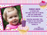 Birthday Invitation Cards for 1 Year Old Sample 1st Birthday Invitations Templates Free