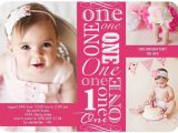 Birthday Invitation Cards for 1 Year Old Sample E Year Old Birthday Party Invitations Ideas