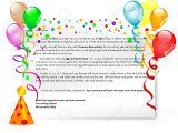 Birthday Invitation format In English Birthday Party Invitation Letter English for Life
