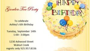 Birthday Invitation HTML Template Sample Birthday Invitation Template 40 Documents In Pdf