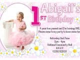 Birthday Invitation Sms for My Daughter 1st Birthday Invitations Ideas for Girl Bagvania Free