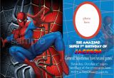 Birthday Invitation Spiderman theme Blank Spiderman Invitations Invitetown I Want A Spider