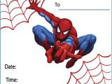 Birthday Invitation Spiderman theme Free Printable Spiderman Party Invitations On Www
