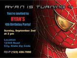 Birthday Invitation Spiderman theme Items Similar to Spiderman Birthday Invitation On Etsy