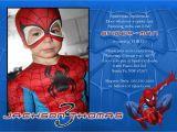 Birthday Invitation Spiderman theme Spiderman Birthday Invitation Templates Best Party Ideas