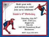 Birthday Invitation Spiderman theme Spiderman Birthday Invitations Personalized Free