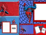 Birthday Invitation Spiderman theme Spiderman Free Printable Invitations Cards or Photo