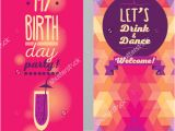 Birthday Invitation Template Adults 15 Adult Birthday Invitation Templates Psd Vector Eps