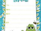 Birthday Invitation Template Boy Free Printable Boys Birthday Party Invitations Hubpages