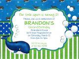 Birthday Invitation Template Boy Items Similar to Preppy Whale Birthday Invitation Boy