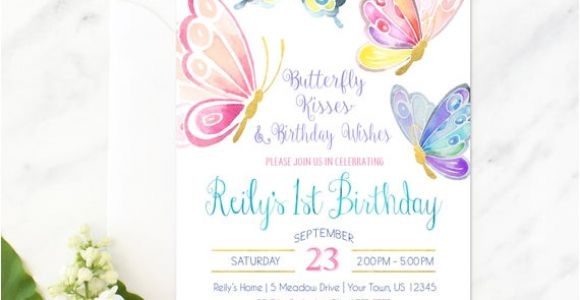 Birthday Invitation Template butterfly Party butterfly Invitation butterfly Birthday butterfly Party