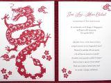 Birthday Invitation Template Chinese Kalo Make Art Bespoke Wedding Invitation Designs Quot Dragon