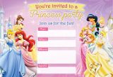 Birthday Invitation Template Disney Free Printable Disney Princess Birthday Invitations D is