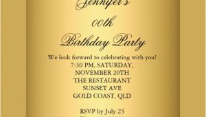 Birthday Invitation Template Gold 29 Birthday Invitation Templates Free Sample Example