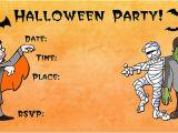 Birthday Invitation Template Halloween 16 Awesome Printable Halloween Party Invitations Kitty
