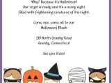 Birthday Invitation Template Halloween Cute Trick or Treatsters Halloween Invitation Wedding