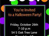 Birthday Invitation Template Halloween Halloween Party Invitation Printable