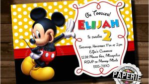 Birthday Invitation Template Mickey Mouse Mickey Mouse Invitation Template 23 Free Psd Vector