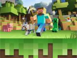 Birthday Invitation Template Minecraft Free Minecraft Invitation Template Edit On Phonto App