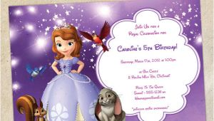 Birthday Invitation Template sofia the First sofia the First Party Invitation Template Instant Download