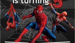 Birthday Invitation Template Spiderman Spiderman Birthday Invitation Invitations Spiderman