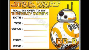 Birthday Invitation Template Star Wars 20 Star Wars Birthday Invitation Template Word Psd