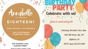 Birthday Invitation Template Whatsapp 10 Whatsapp Birthday Invitation Cards Templates for You to