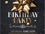 Birthday Invitation Templates Club Flyer Style Birthday Party Flyer Psd Download Creative Flyers