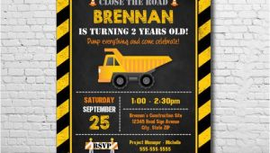 Birthday Invitation Templates Construction Construction Party Invitation Construction Birthday