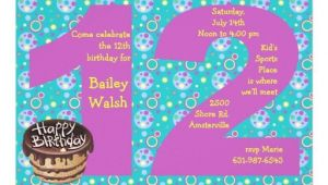 Birthday Invitation Templates for 12 Year Old 12 Years Old Birthday Free Printable Birthday